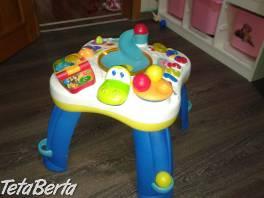 Bright Starts dětský hrací stůl , Pre deti, Detský nábytok    Tetaberta.sk - bazár, inzercia zadarmo