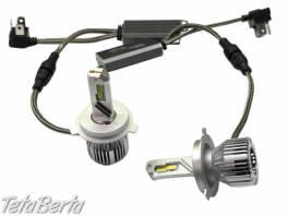 LED žiarovky H4 45W, farba svetla biela 6000K, 12V, 10000lm, IP65, 2ks. TOP výkon. , Náhradné diely a príslušenstvo, Ostatné  | Tetaberta.sk - bazár, inzercia zadarmo