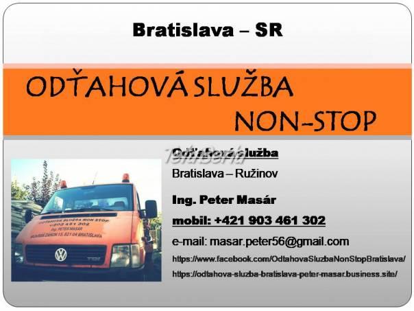 Odťahová služba Bratislava - Peter Masár, foto 1 Obchod a služby, Ostatné | Tetaberta.sk - bazár, inzercia zadarmo