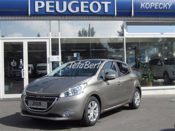 Peugeot 208 5P ACTIVE 1.2 PureTech 82k MAN5, foto 1 Auto-moto, Automobily   Tetaberta.sk - bazár, inzercia zadarmo