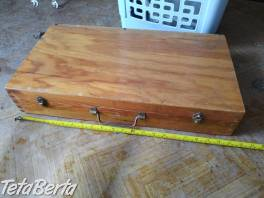Predám drevenú skrinku na náradie.  , Hobby, voľný čas, Ostatné  | Tetaberta.sk - bazár, inzercia zadarmo