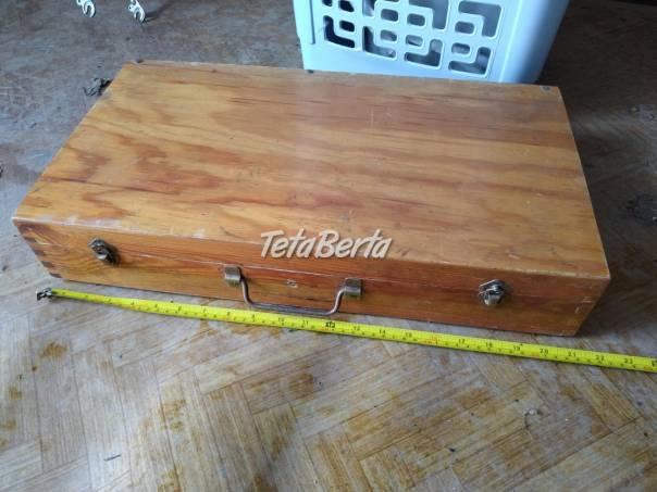 Predám drevenú skrinku na náradie. , foto 1 Hobby, voľný čas, Ostatné | Tetaberta.sk - bazár, inzercia zadarmo