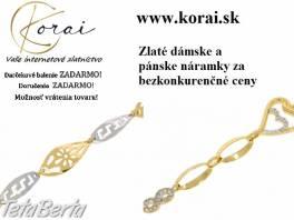 Zlaté náramky od KORAI , Móda, krása a zdravie, Hodinky a šperky  | Tetaberta.sk - bazár, inzercia zadarmo