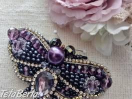 Ručne vyšívané brošne , Móda, krása a zdravie, Hodinky a šperky  | Tetaberta.sk - bazár, inzercia zadarmo