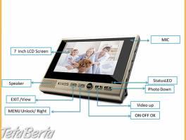 Bezdrôtový dverový videotelefón KIVOS KDB 700 , Elektro, Video, dvd a domáce kino  | Tetaberta.sk - bazár, inzercia zadarmo
