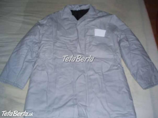 8e20ba7c6535 Predám pracovný kabát - prešívák.