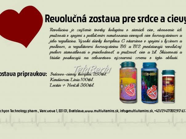 Ochorenia srdca a ciev, problémy so srdiečkom a cievami, foto 1 Móda, krása a zdravie, Starostlivosť o zdravie | Tetaberta.sk - bazár, inzercia zadarmo