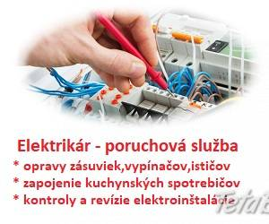 Elektrikár Bratislava + okolie NONSTOP, foto 1 Obchod a služby, Ostatné   Tetaberta.sk - bazár, inzercia zadarmo