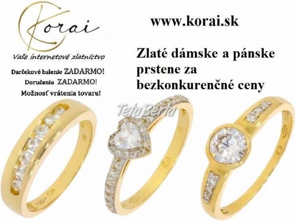 Zlaté prstene od KORAI, foto 1 Móda, krása a zdravie, Hodinky a šperky | Tetaberta.sk - bazár, inzercia zadarmo
