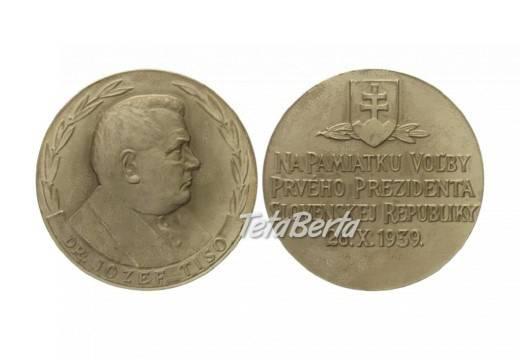 Kúpim staré medaily, foto 1 Hobby, voľný čas, Umenie a zbierky   Tetaberta.sk - bazár, inzercia zadarmo