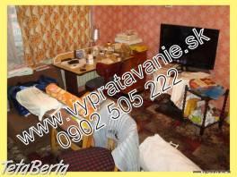 Vypratávanie bytov, odvoz starého nábytku Bratislava , Obchod a služby, Preprava tovaru  | Tetaberta.sk - bazár, inzercia zadarmo