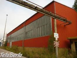 Lukratívna výrobná / skladová hala v Brezne-rezervované