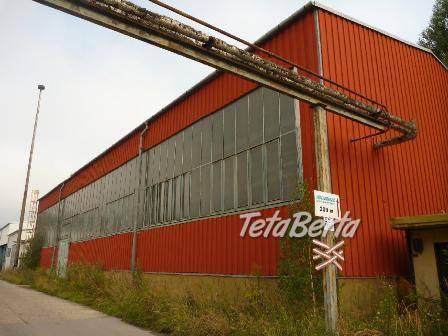 Lukratívna výrobná / skladová hala v Brezne-rezervované, foto 1 Reality, Ostatné | Tetaberta.sk - bazár, inzercia zadarmo