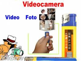 Skrytá kamera - zapaľovač. , Elektro, Video, dvd a domáce kino    Tetaberta.sk - bazár, inzercia zadarmo