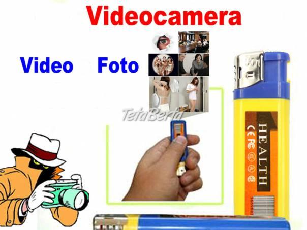 Skrytá kamera - zapaľovač., foto 1 Elektro, Video, dvd a domáce kino | Tetaberta.sk - bazár, inzercia zadarmo