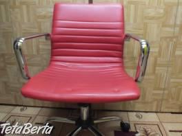 Predám červenú stoličku. , Dom a záhrada, Stoly, pulty a stoličky    Tetaberta.sk - bazár, inzercia zadarmo