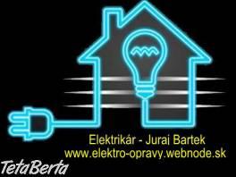 Elektrikár Bratislava nonstop – Juraj Bartek