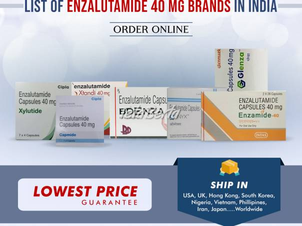 Kúpte enzalutamid online   Najnižšia cena Enzalutamide 40 mg indické značky, foto 1 Móda, krása a zdravie, Starostlivosť o zdravie   Tetaberta.sk - bazár, inzercia zadarmo