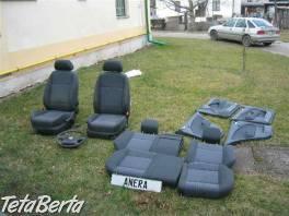 Škoda Octavia čalounění + sedadla na