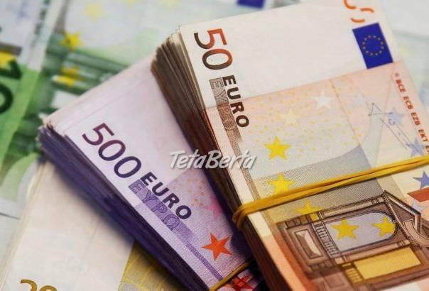 Pôžičky od 5 000 EUR do 10 000 000 EUR, foto 1 Dom a záhrada, Brány a ploty | Tetaberta.sk - bazár, inzercia zadarmo