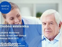 Opatrovateľka - Bratislava , Práca, Ostatné  | Tetaberta.sk - bazár, inzercia zadarmo