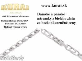 Z bieleho zlata náramky KORAI , Móda, krása a zdravie, Hodinky a šperky  | Tetaberta.sk - bazár, inzercia zadarmo