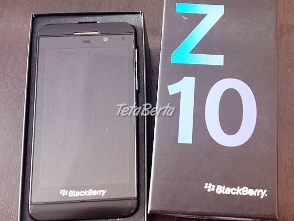 Blackberry Z10, foto 1 Elektro, Mobilné telefóny | Tetaberta.sk - bazár, inzercia zadarmo