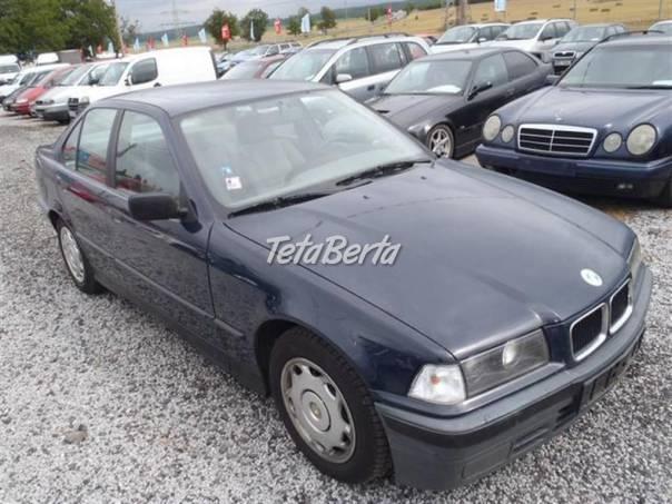 BMW Řada 3 318i, 1.8i 83 kW, foto 1 Auto-moto, Automobily | Tetaberta.sk - bazár, inzercia zadarmo