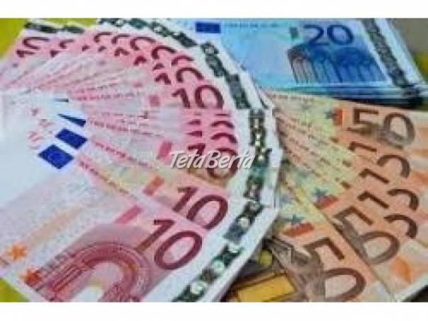 pôžičky v rozmedzí od 2000 do 200000 EUR, foto 1 Obchod a služby, Financie | Tetaberta.sk - bazár, inzercia zadarmo