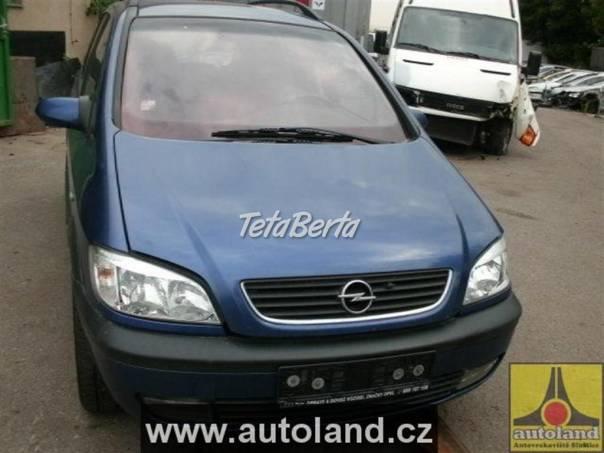 Opel Zafira 2,2, foto 1 Auto-moto   Tetaberta.sk - bazár, inzercia zadarmo