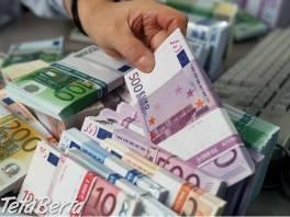 ponuka pôžičky na peniaze , Obchod a služby, Financie  | Tetaberta.sk - bazár, inzercia zadarmo