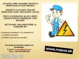 Priemyselný elektrikár , Práca, Práca v zahraničí  | Tetaberta.sk - bazár, inzercia zadarmo
