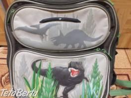 Predám školskú tašku - dinosaura. , Pre deti, Školské potreby  | Tetaberta.sk - bazár, inzercia zadarmo