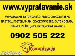 Odvoz starého nábytku, vypratavanie bytov, búracie práce  , Dom a záhrada, Stoly, pulty a stoličky  | Tetaberta.sk - bazár, inzercia zadarmo