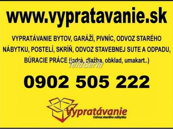 Odvoz starého nábytku, vypratavanie bytov, búracie práce , foto 1 Dom a záhrada, Stoly, pulty a stoličky | Tetaberta.sk - bazár, inzercia zadarmo