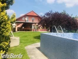 Zariadený 4 izb. RD s bazénom a garážou, skolaudovaný v r. 2004, ÚP 210m2, pozemok 1124m2 – HURBANOVA VES, OKRES SENEC , Reality, Domy  | Tetaberta.sk - bazár, inzercia zadarmo
