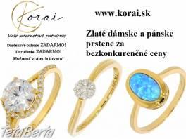 Zlaté prstene KORAI , Móda, krása a zdravie, Hodinky a šperky  | Tetaberta.sk - bazár, inzercia zadarmo