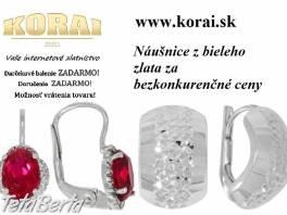 Náušnice z bieleho zlata od KORAI , Móda, krása a zdravie, Hodinky a šperky  | Tetaberta.sk - bazár, inzercia zadarmo