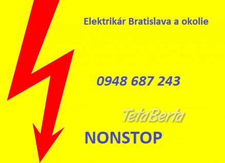 Elektrikár Bratislava-NONSTOP, foto 1 Obchod a služby, Stroje a zariadenia | Tetaberta.sk - bazár, inzercia zadarmo