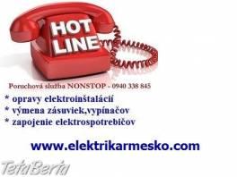 Elektrikár Bratislava – Petržalka , Elektro, Ostatné  | Tetaberta.sk - bazár, inzercia zadarmo