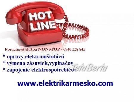 Elektrikár Bratislava – Petržalka, foto 1 Elektro, Ostatné | Tetaberta.sk - bazár, inzercia zadarmo