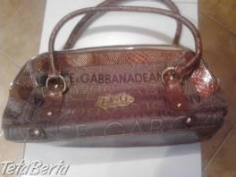 Dolce Gabbana , Móda, krása a zdravie, Kabelky a tašky  | Tetaberta.sk - bazár, inzercia zadarmo