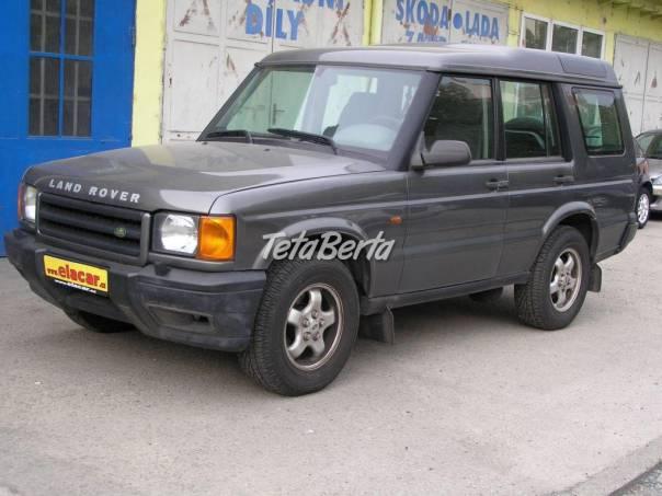 Land Rover Discovery 2.5 TD5 bez KOROZE, foto 1 Auto-moto, Automobily | Tetaberta.sk - bazár, inzercia zadarmo