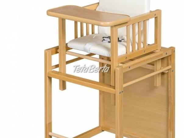 stolička na krmenie-Nová, foto 1 Pre deti, Detský nábytok | Tetaberta.sk - bazár, inzercia zadarmo