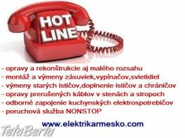 Elektrikár Bratislava + okolie NONSTOP , Obchod a služby, Ostatné  | Tetaberta.sk - bazár, inzercia zadarmo