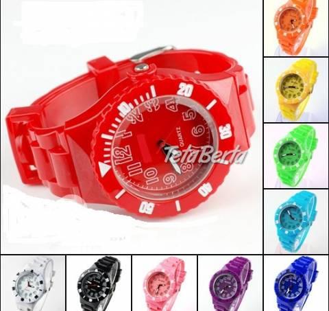 Silikonové náramkové hodinky !, foto 1 Móda, krása a zdravie, Hodinky a šperky | Tetaberta.sk - bazár, inzercia zadarmo
