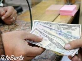 Potrebujete rýchlu pôžičku , Obchod a služby, Financie  | Tetaberta.sk - bazár, inzercia zadarmo