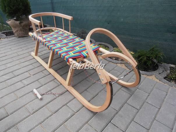 Detské drevené sánky, foto 1 Pre deti, Detský nábytok | Tetaberta.sk - bazár, inzercia zadarmo