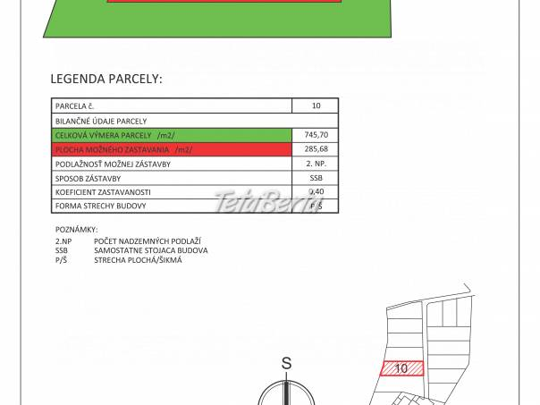 Predaj pozemku pre výstavbu rodinného domu 745,7 m² Lukovištia, foto 1 Reality, Pozemky | Tetaberta.sk - bazár, inzercia zadarmo