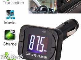 Multifunkčný mp3 prehrávač do auta